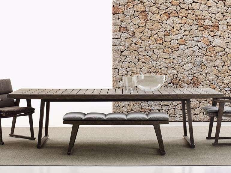 Tavolo in legno B&B Italia Outdoor