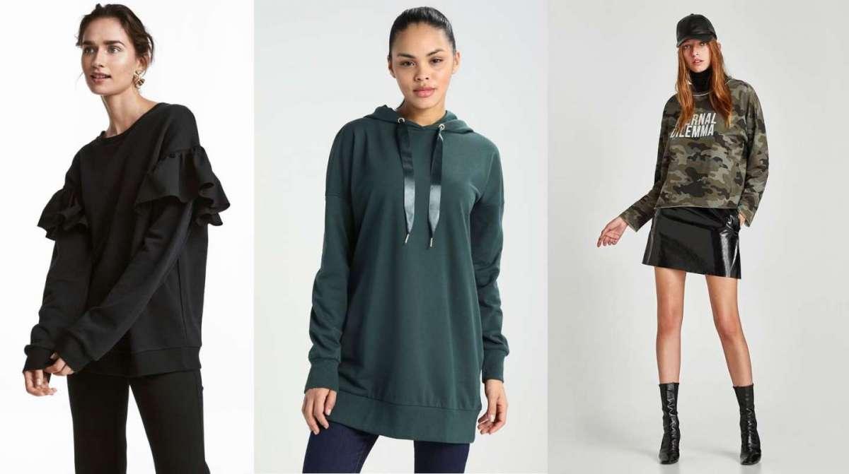 Felpe invernali alla moda per ragazze