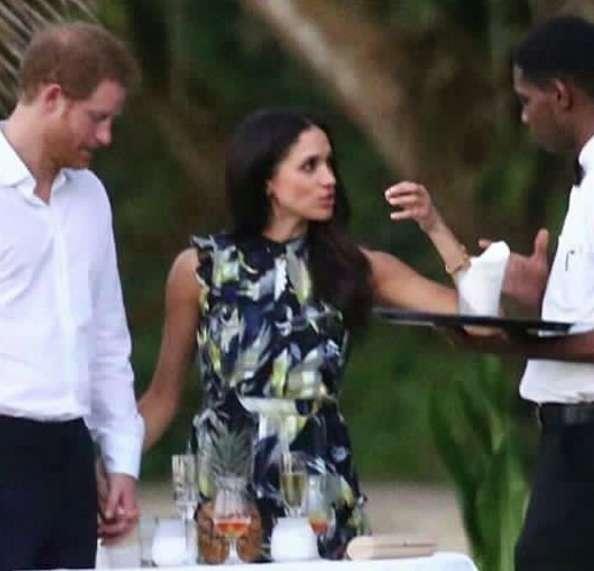 Harry e Meghan ad un matrimonio