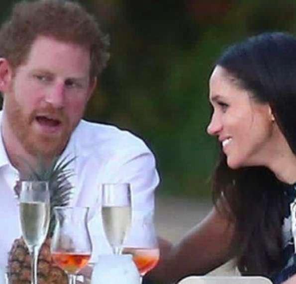 Il principe con la sua fidanzata
