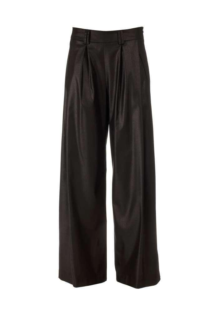 Pantaloni a palazzo neri
