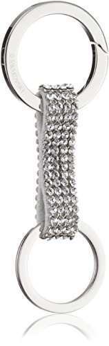 Portachiavi in argento Swarovski