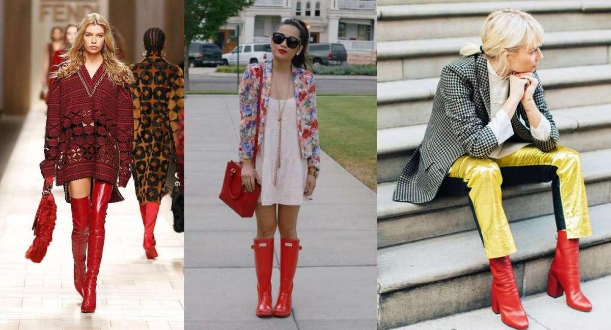 Stivali rossi, i modelli più belli