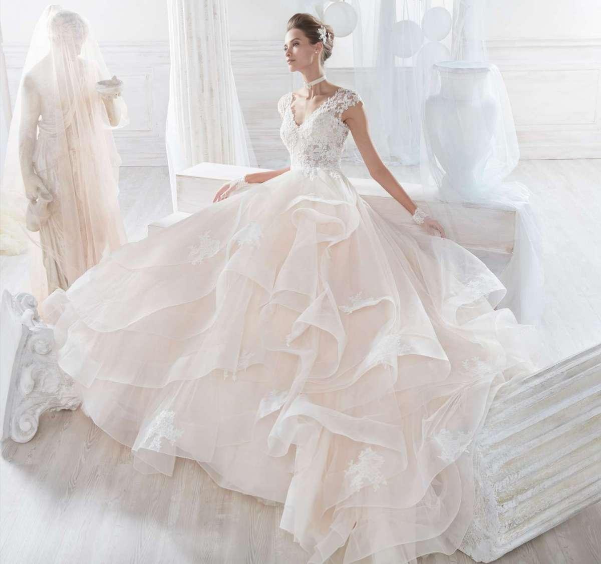 Abito da sposa rosa Nicole Spose