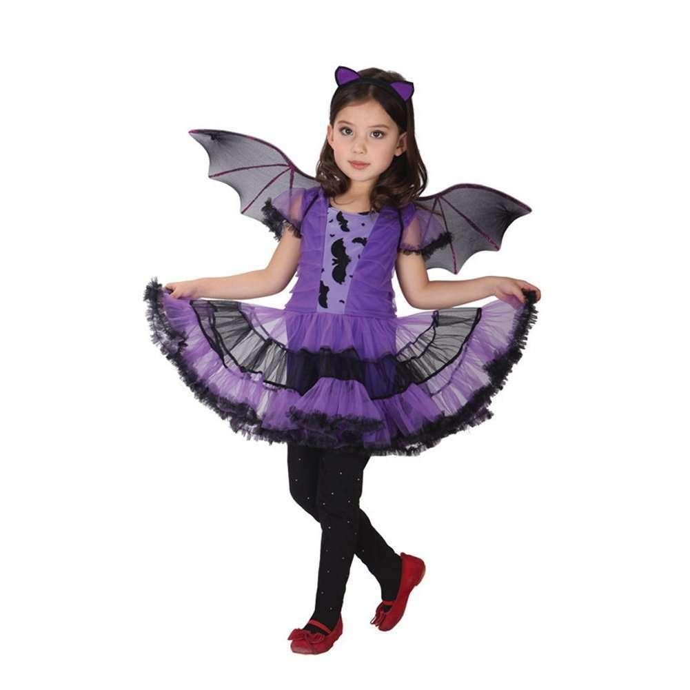 Costume da pipistrello per bambina