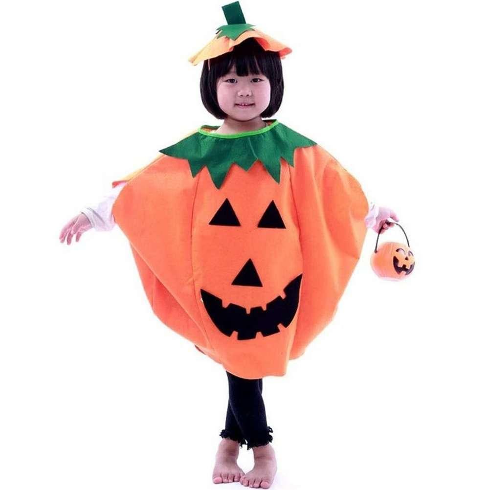 Costume zucca per Halloween