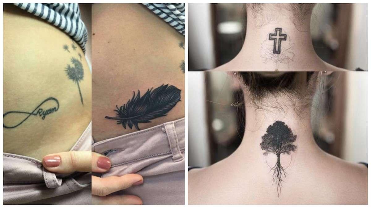 Cover up tatuaggi, le idee più belle