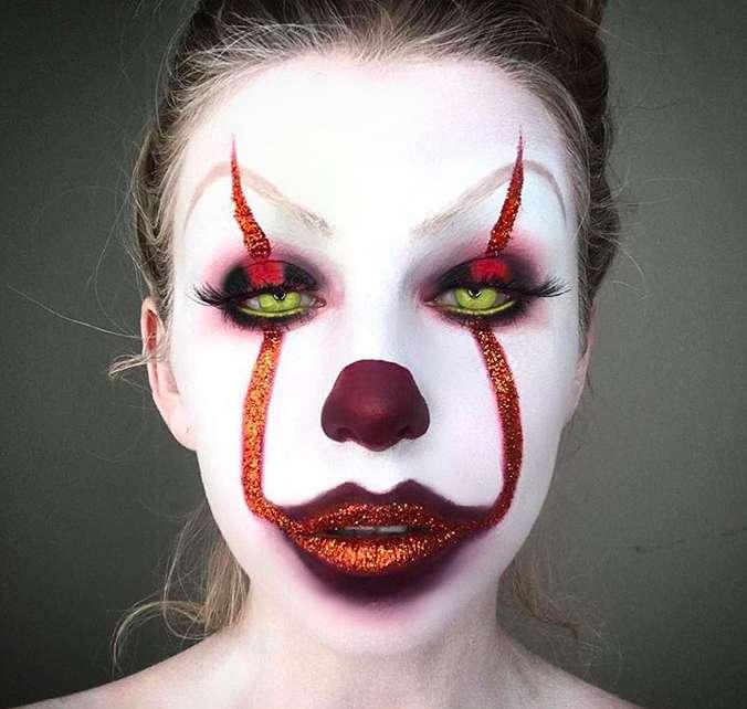 Labbra glitter per il tuo make up stile Pennywise