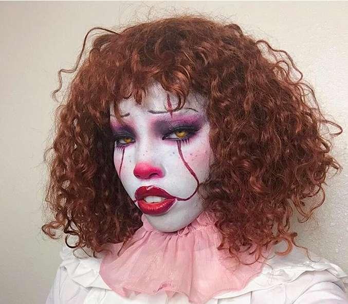 Make up da It il pagliaccio