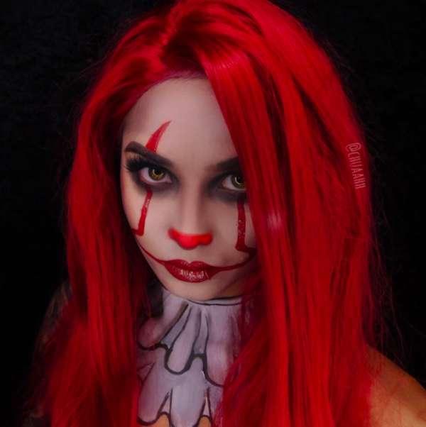 Make up da Pennywise per Halloween