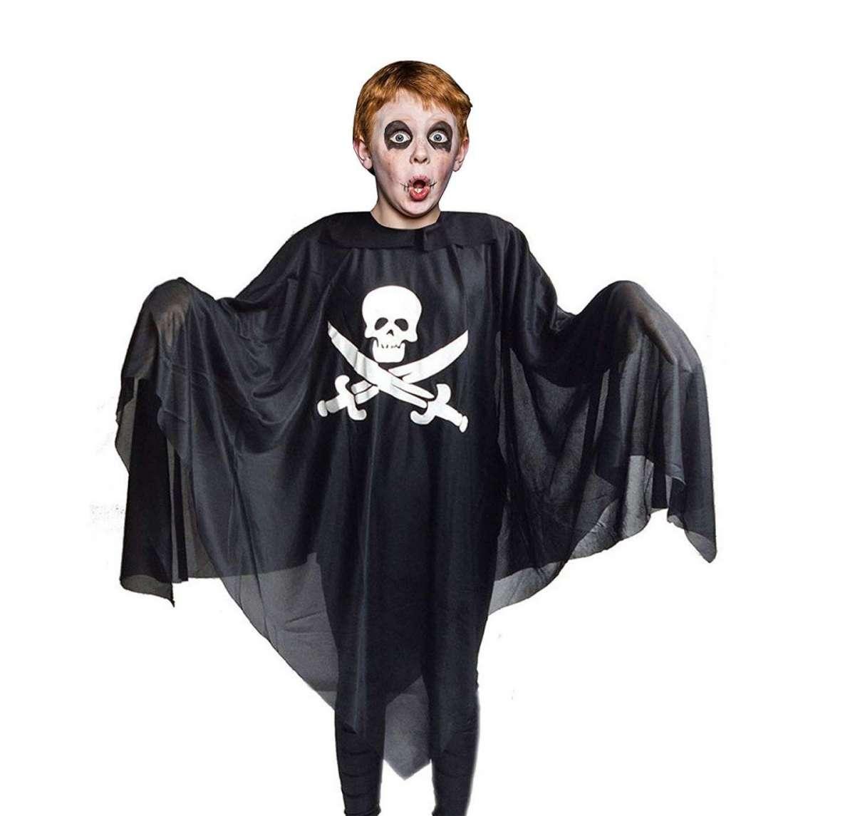 Poncho da pirata per Halloween