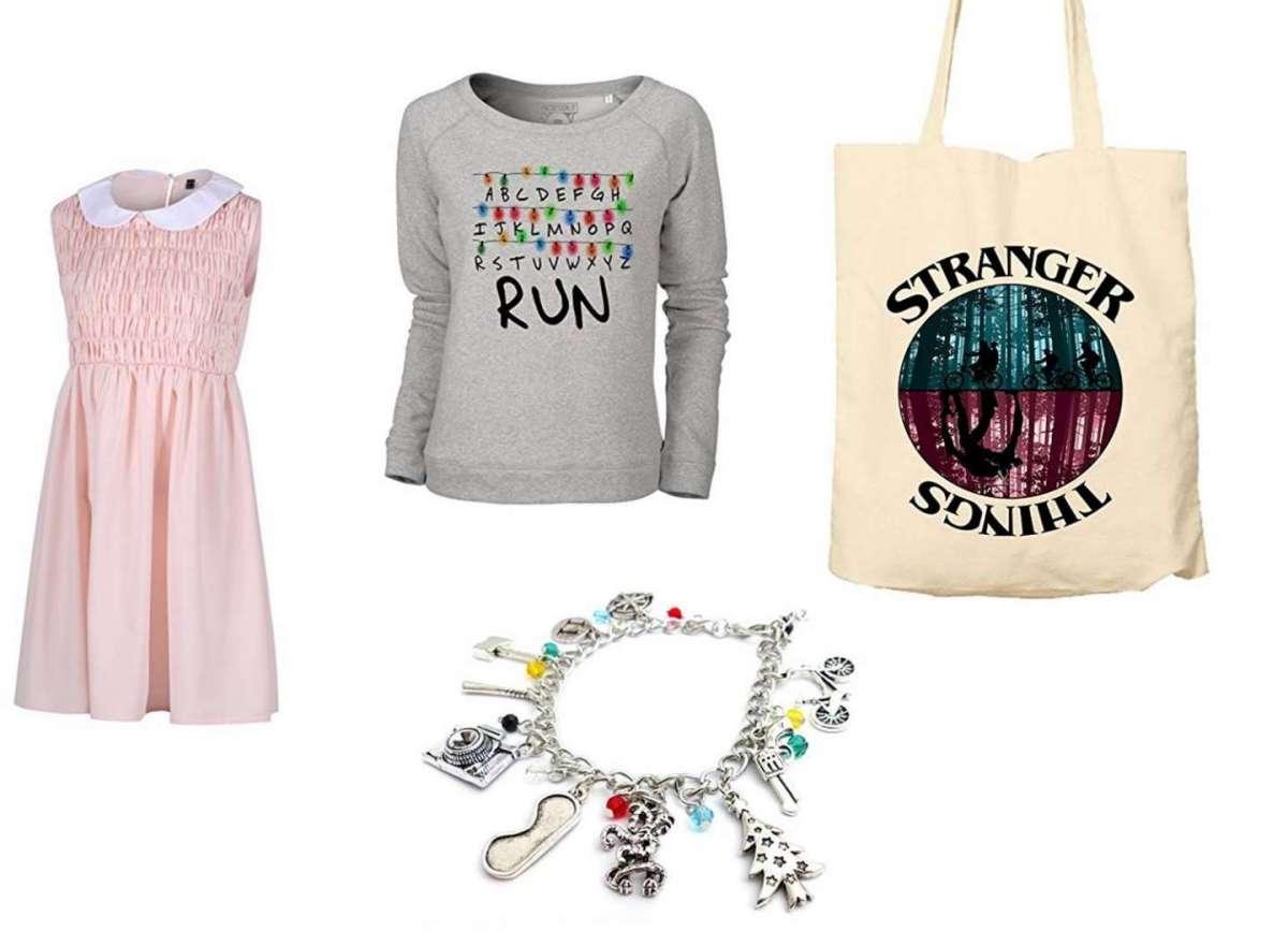 Vestiti e accessori a tema Stranger Things