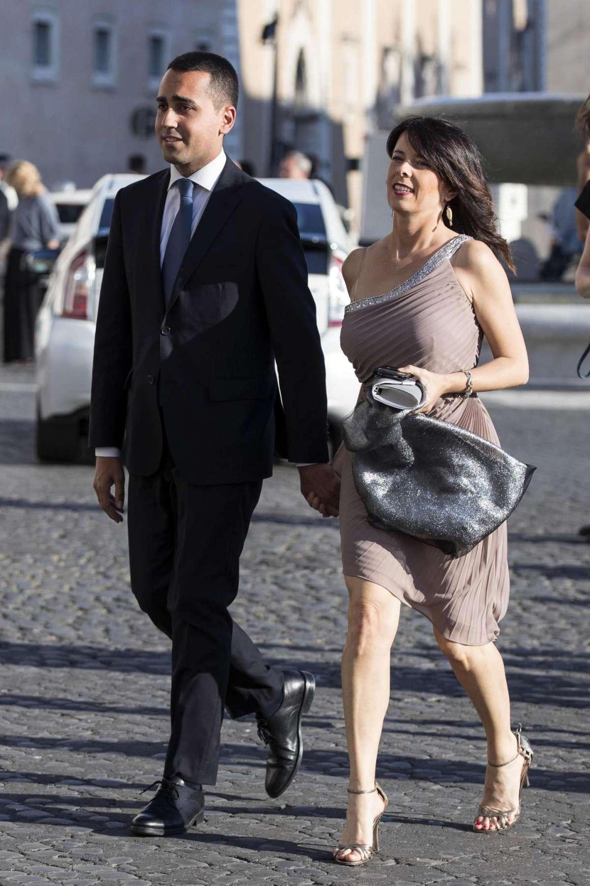 Di Maio e Silvia Virgulti in Quirinale