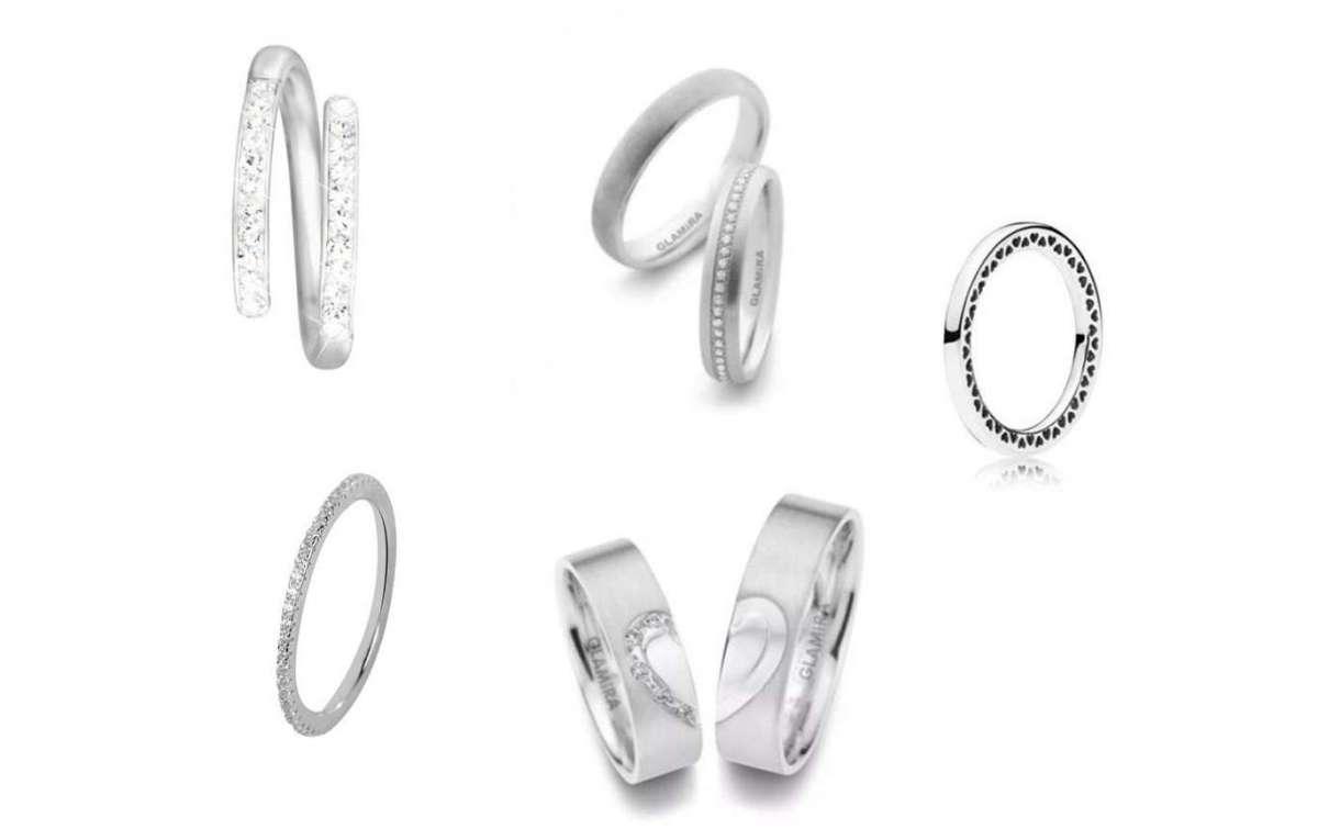 Fedine di fidanzamento in argento
