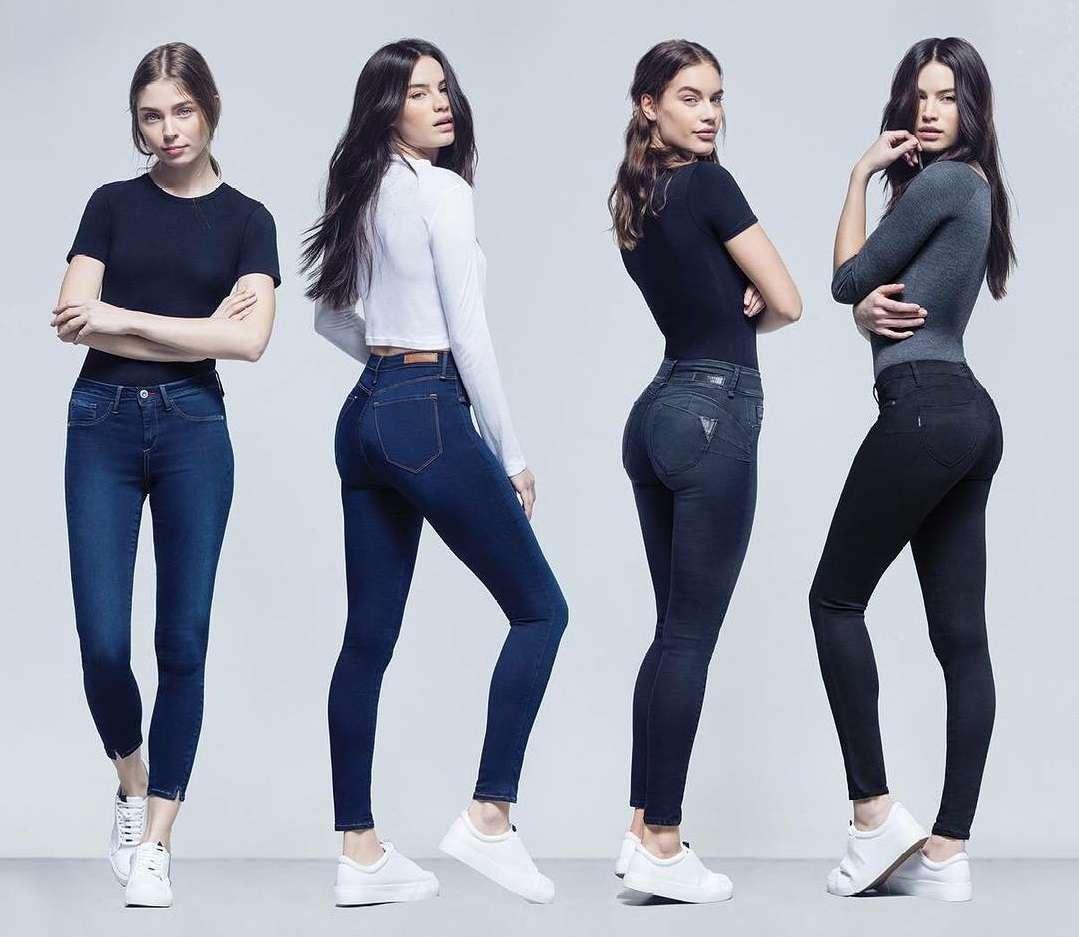 I jeans taglia unica Tiffosi