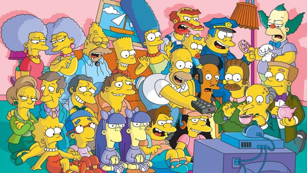 I Simpson sono i cartoni animati più famosi degli anni '90