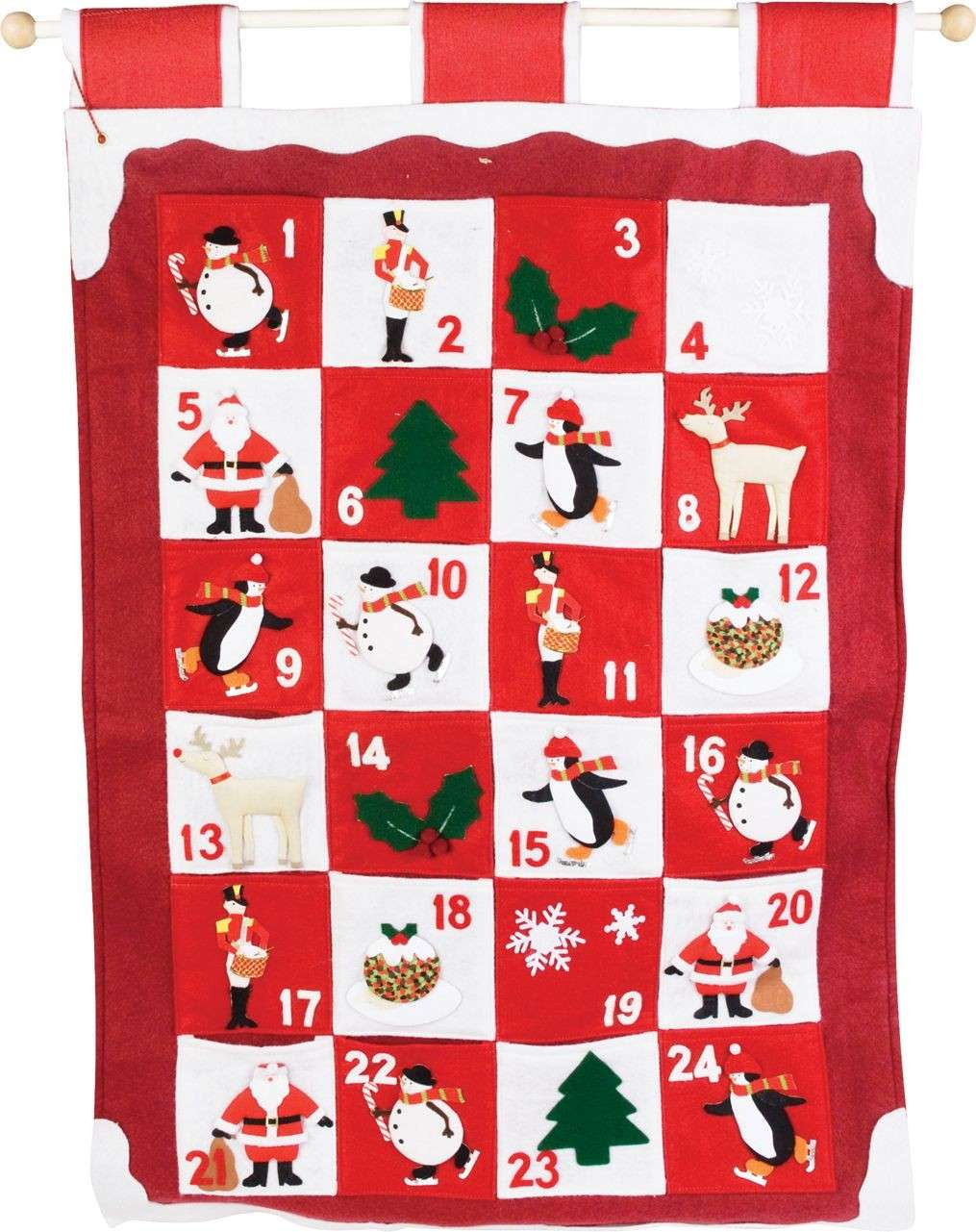 Il calendario dell'avvento di Babbo Natale