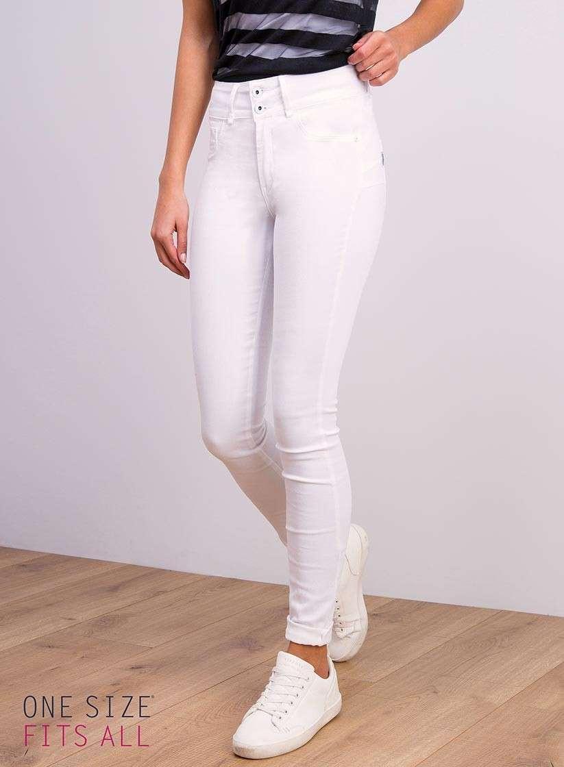 Jeans bianchi taglia unica Tiffosi
