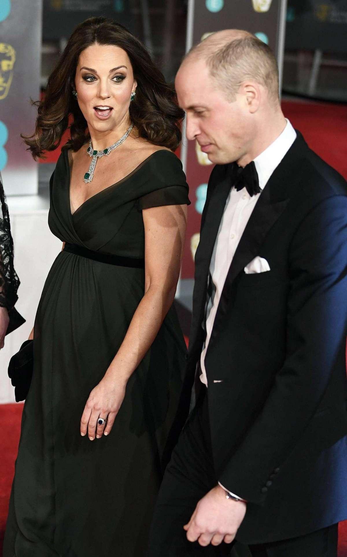 Kate e William alla cerimonia dei Bafta 2018