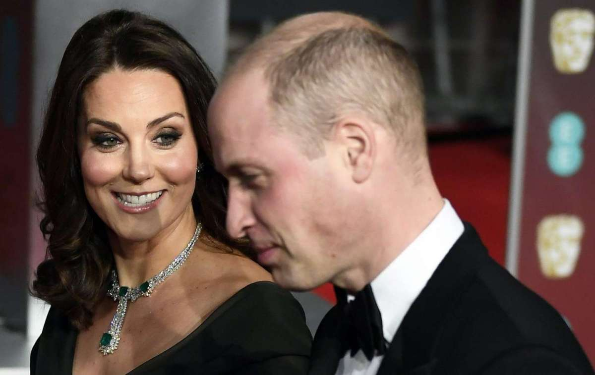 Kate Middleton e il suo splendido sorriso sul red carpet