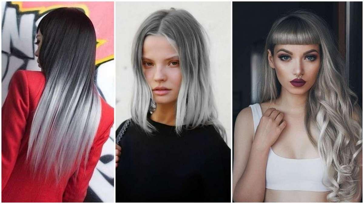 Shatush grigio, le tonalità più cool