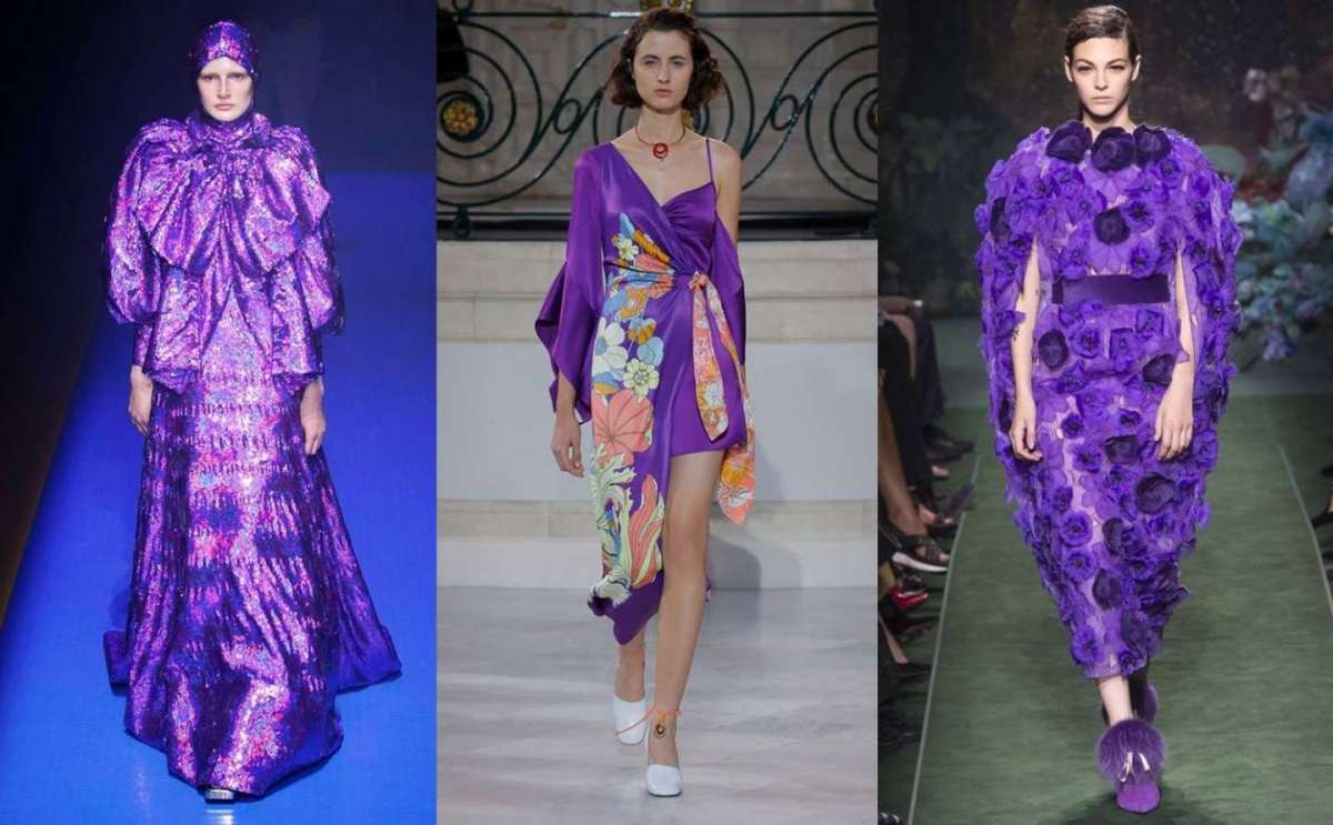 Colore moda 2018 Ultra Violet