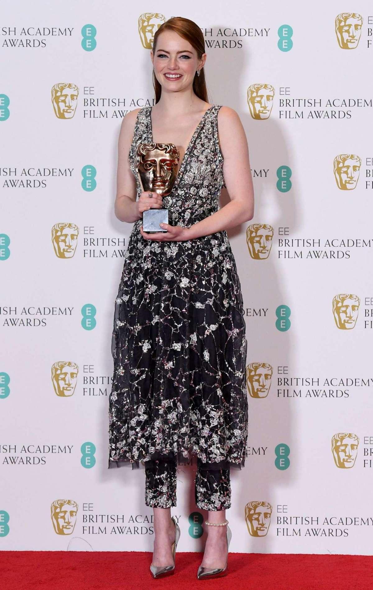 Emma Stone ai British Academy Film Awards