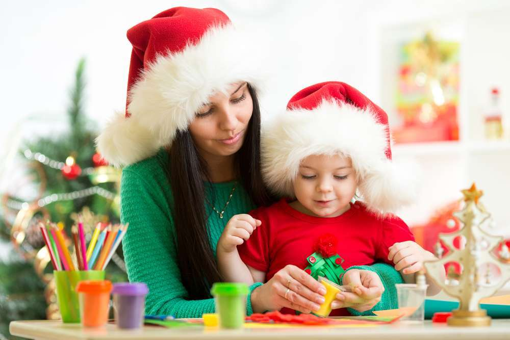 Immagini lavoretti di Natale per bambini