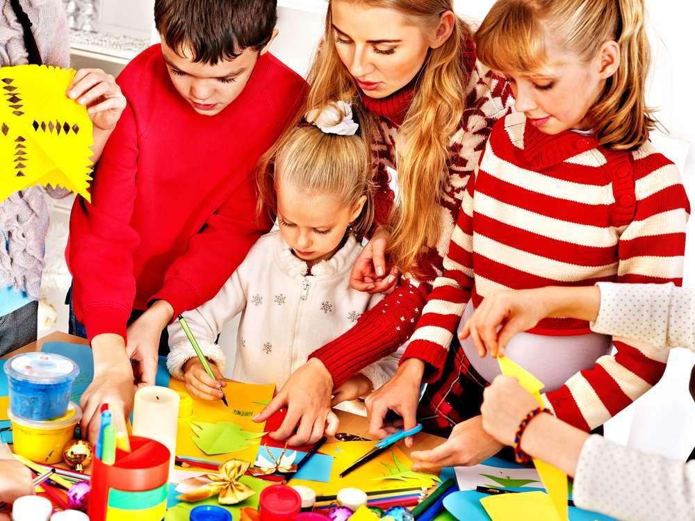 Lavoretti di Natale per l'asilo nido
