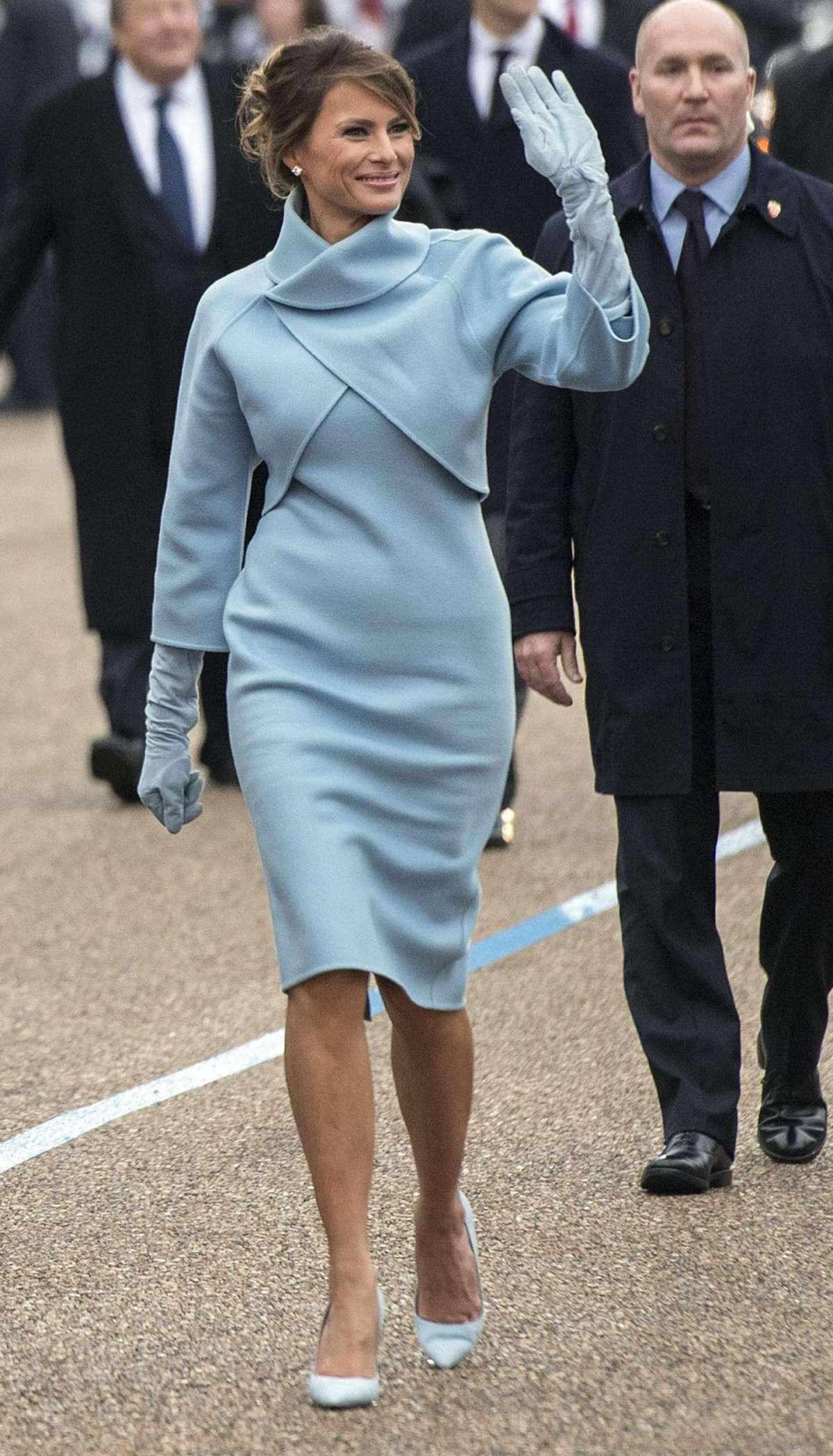 Melania Trump, la donna più elegante del 2017