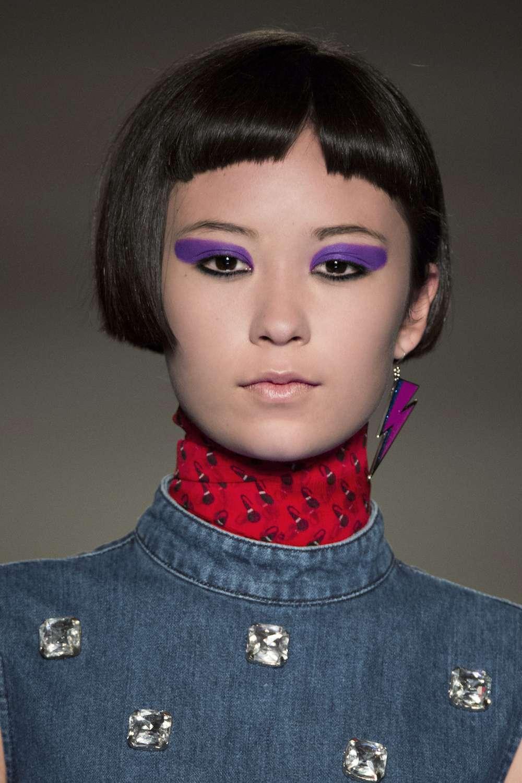 Trucco occhi con eyeliner Ultra Violet