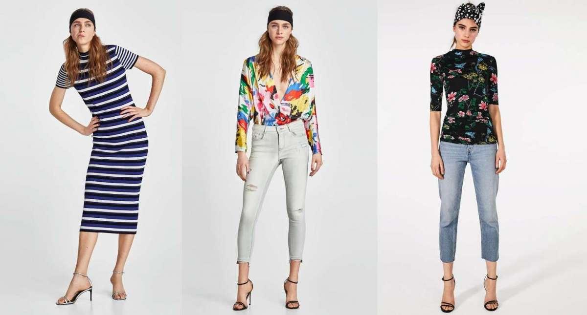 Abbigliamento Zara Primavera Estate 2018