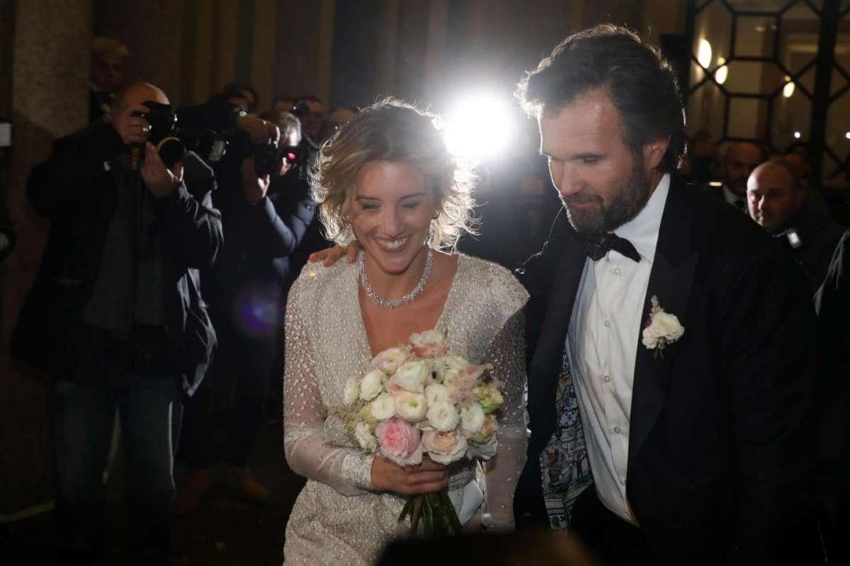 Carlo Cracco e Rosa Fanti sposi