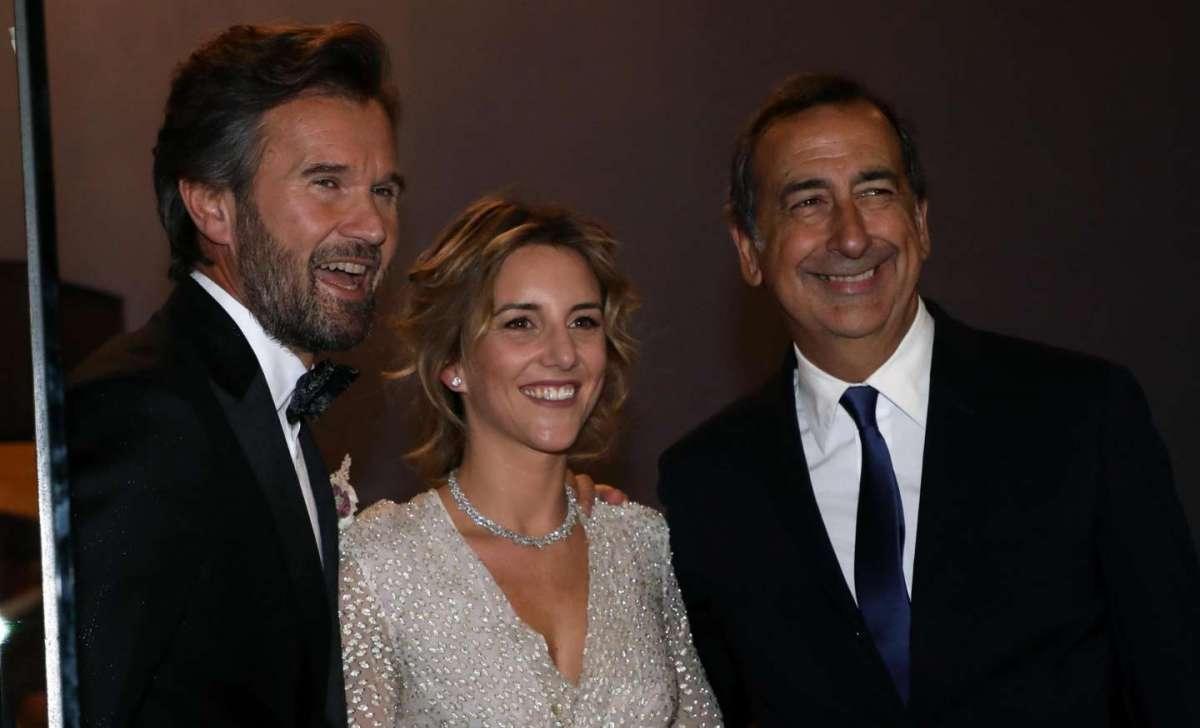 Carlo e Rosa con il sindaco
