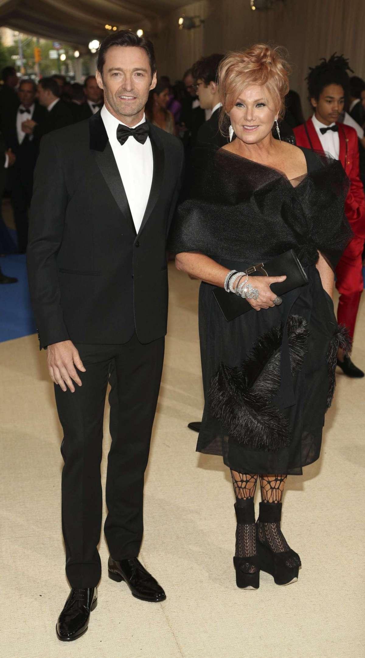Hugh Jackman e la moglie