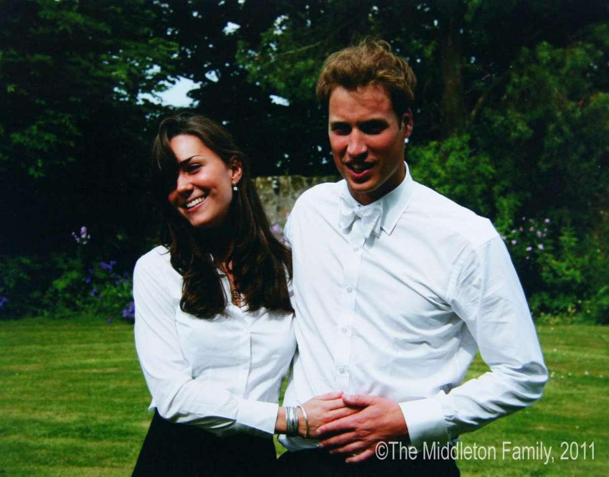 Kate e William all'Università