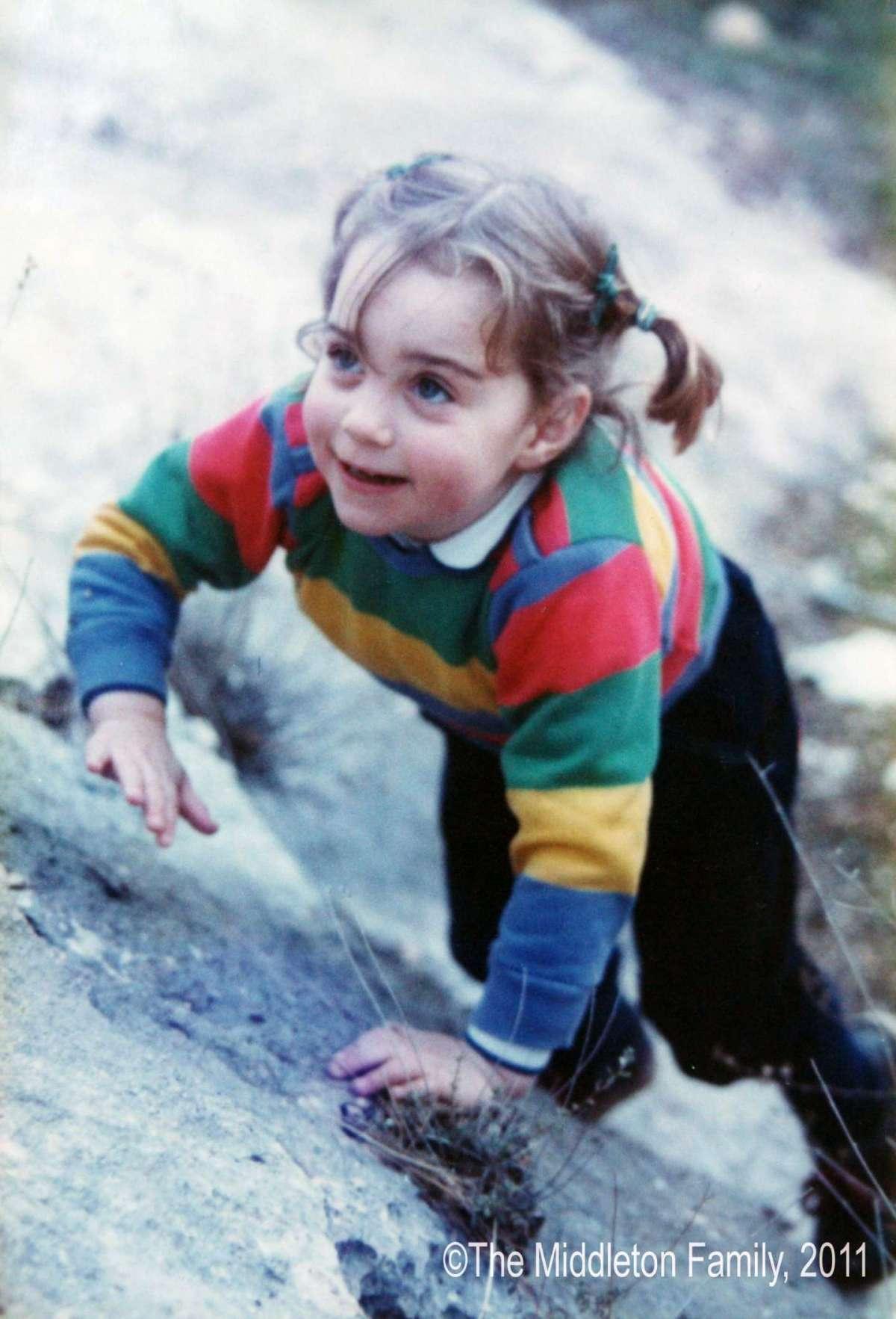 Kate Middleton da bambina