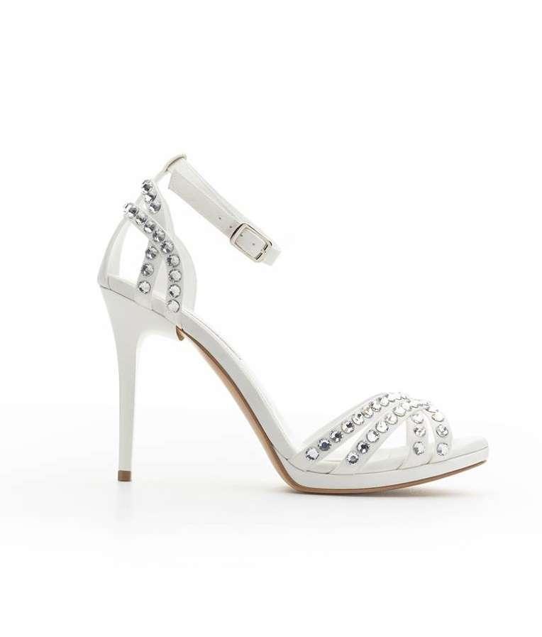 Scarpe da sposa gioiello Albano
