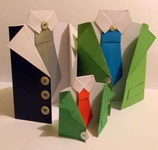 Biglietto con cravatte per la Festa del Papà
