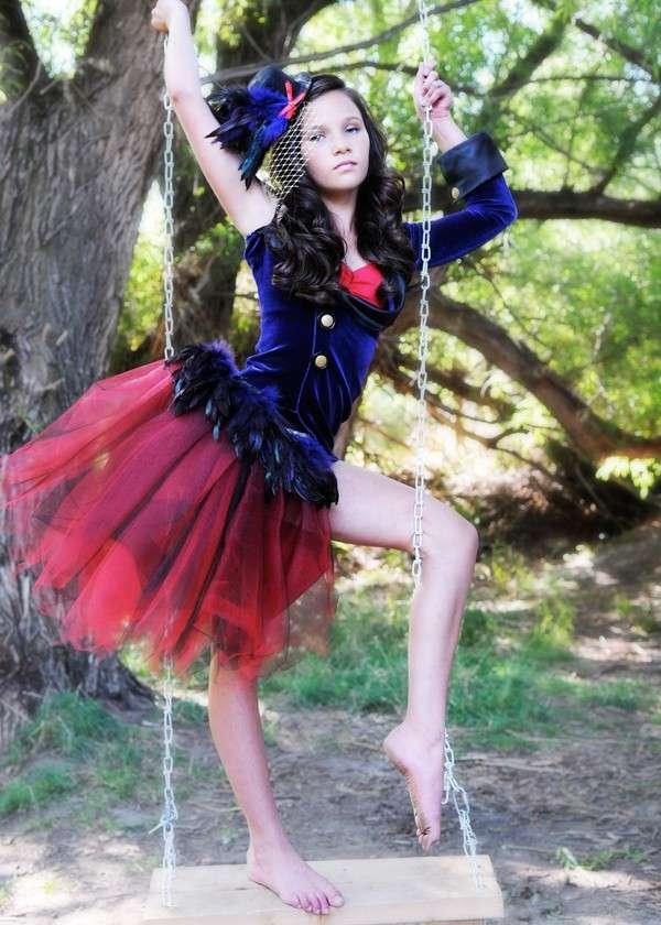 Costume da ballerina per ragazza