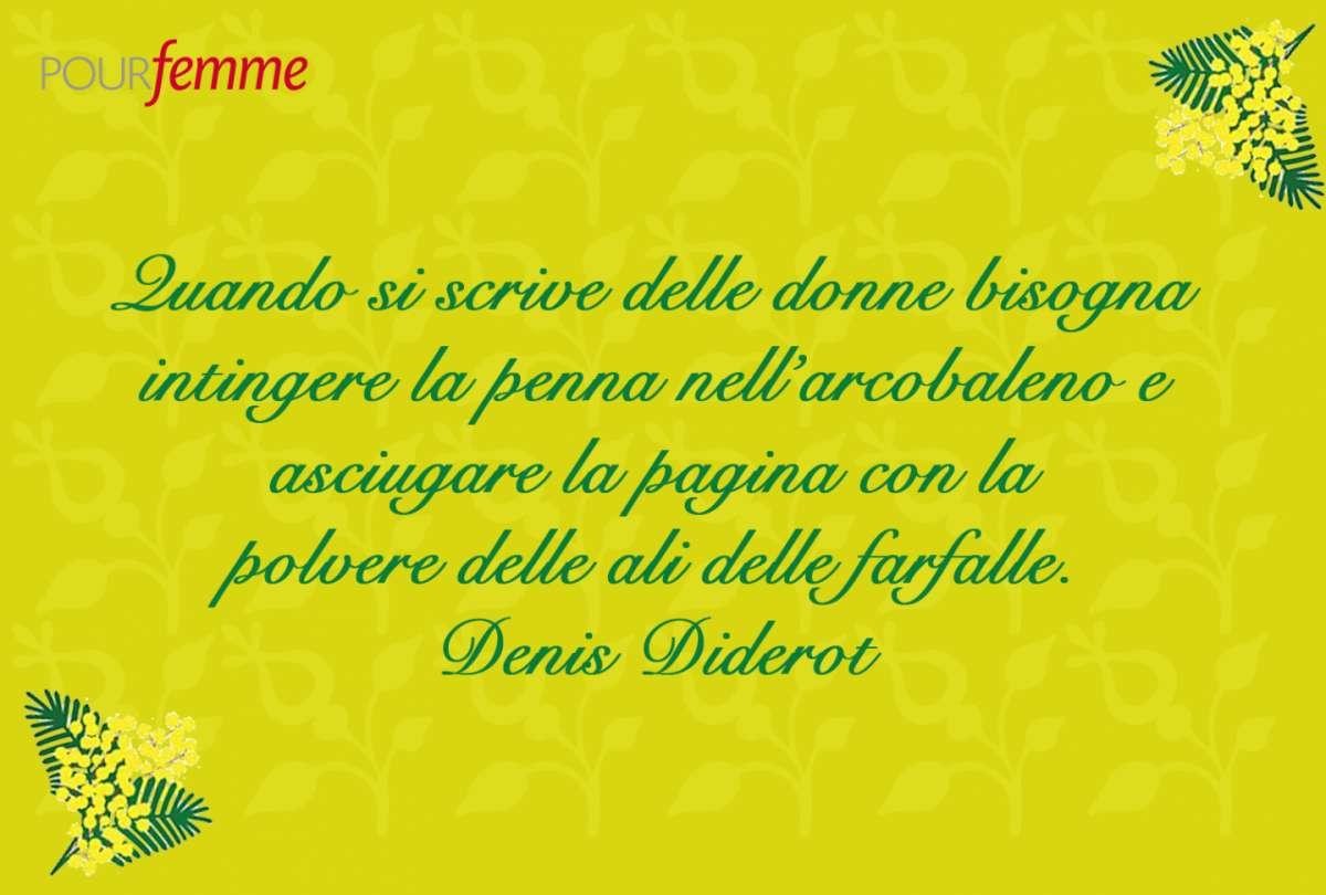 Frase per la Festa della Donna di Denis Diderot