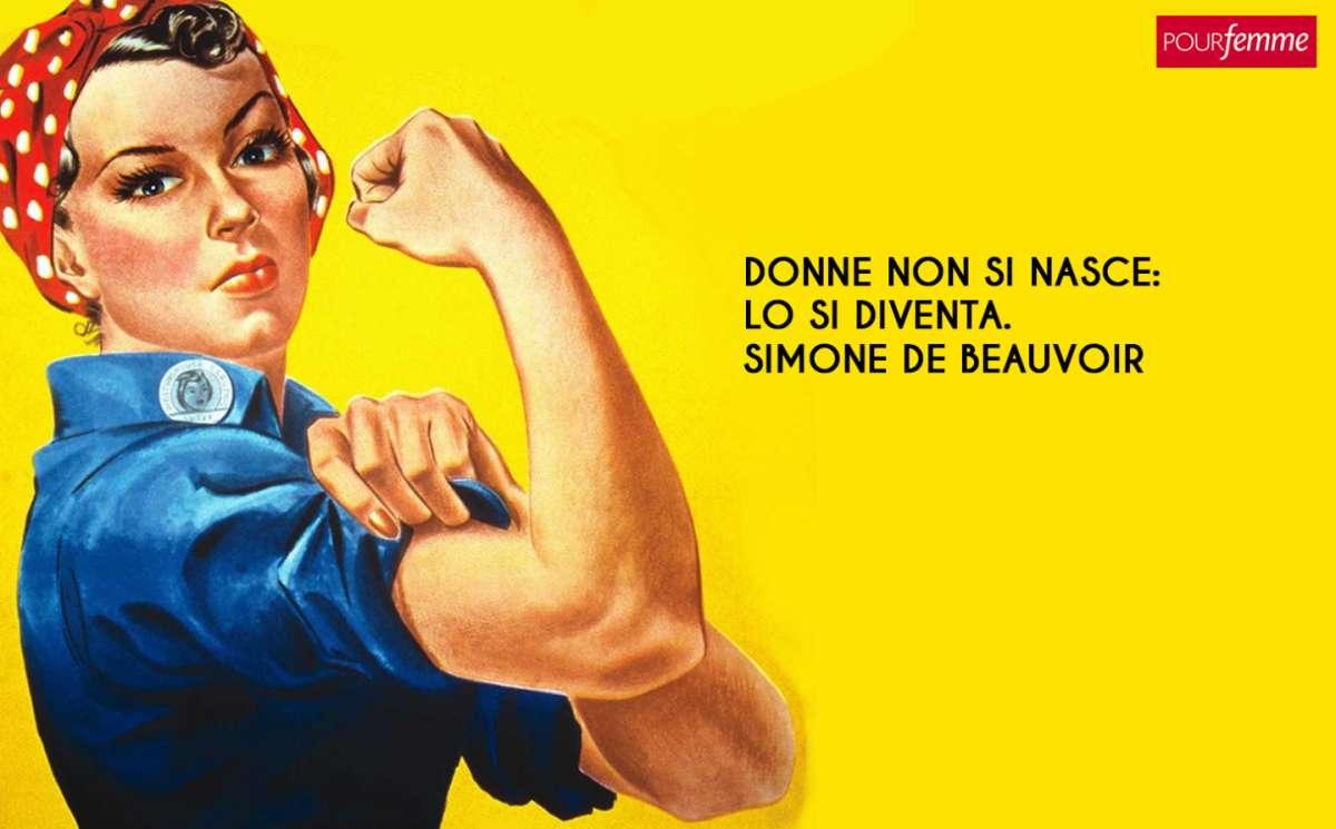Frasi per la Festa della donna: l'aforisma di Simone de Beauvoir