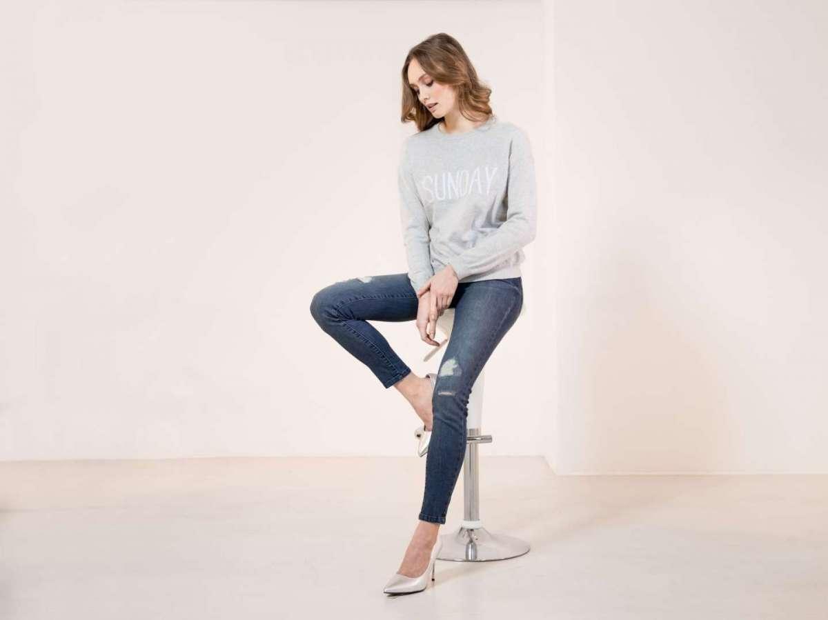 Jeans con strappi Esmara by Heidi Klum Letsdenim