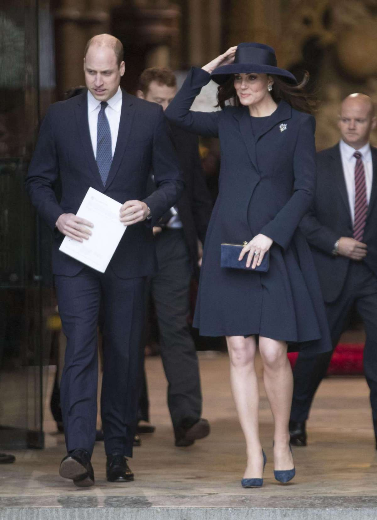Kate Middleton e il principe William al Commonwealth Day