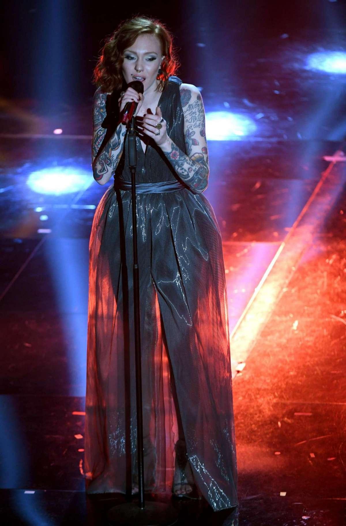 L'abito di Eva a Sanremo
