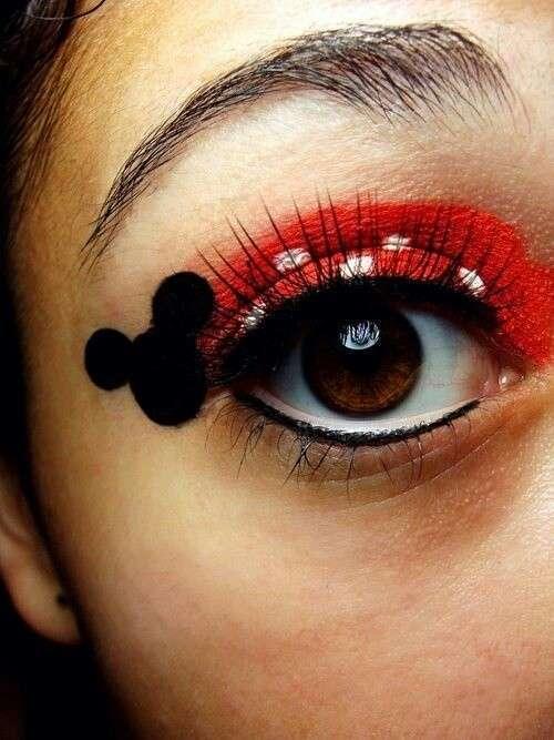 Make up occhi Minnie