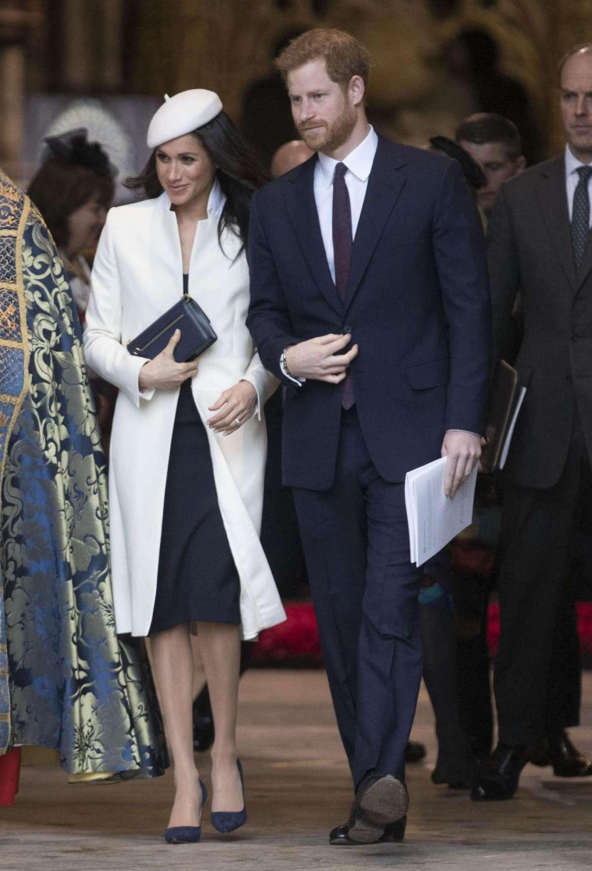 Meghan Markle, prima uscita ufficiale con la Royal Family