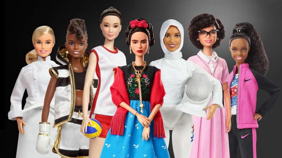 Barbie Role Model, le bambole ispirate ai modelli femminili del presente e del passato