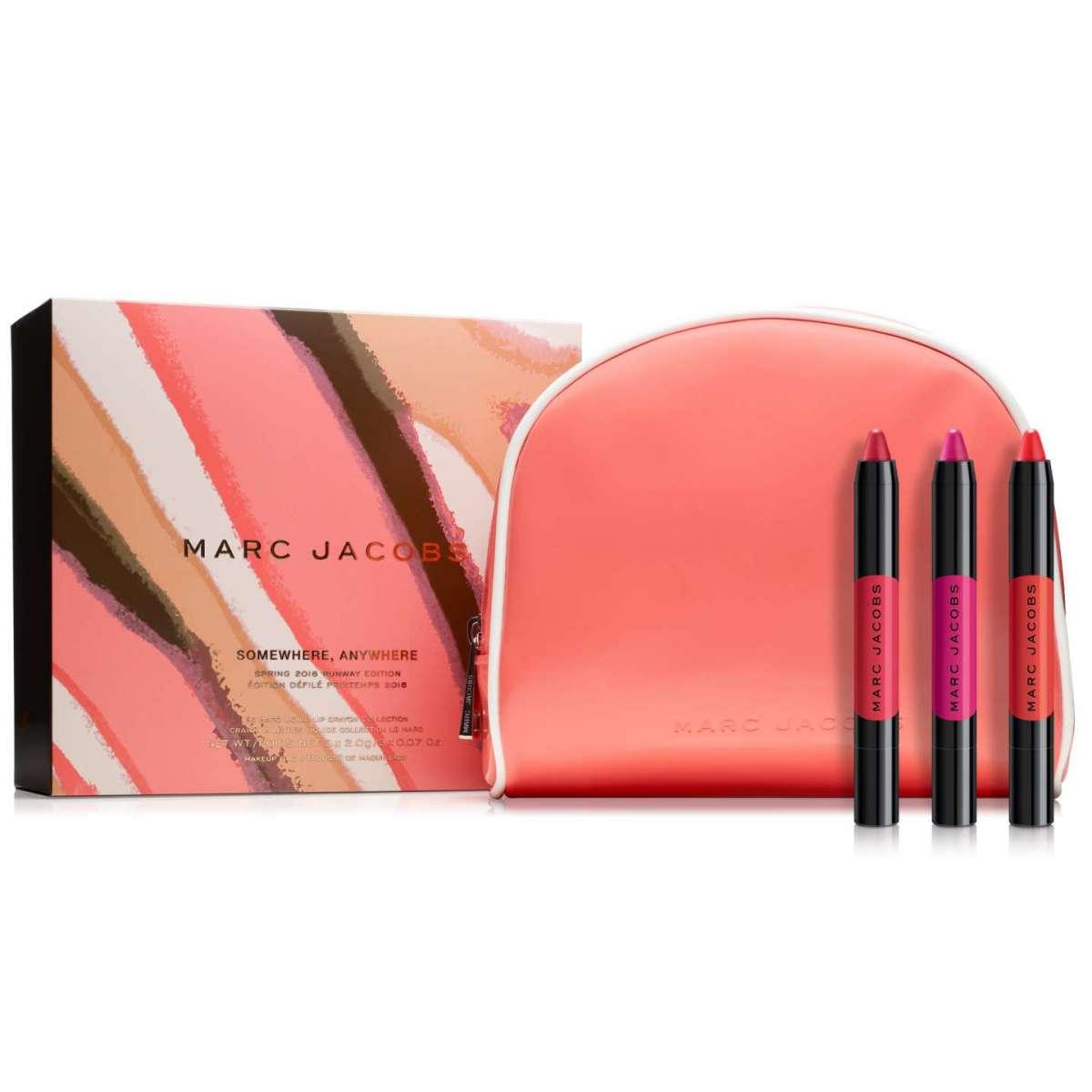 I nuovi rossetti matitoni di Marc Jacobs