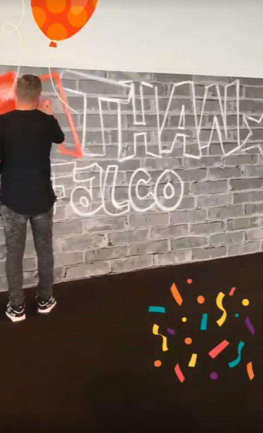Il murales di Nathan